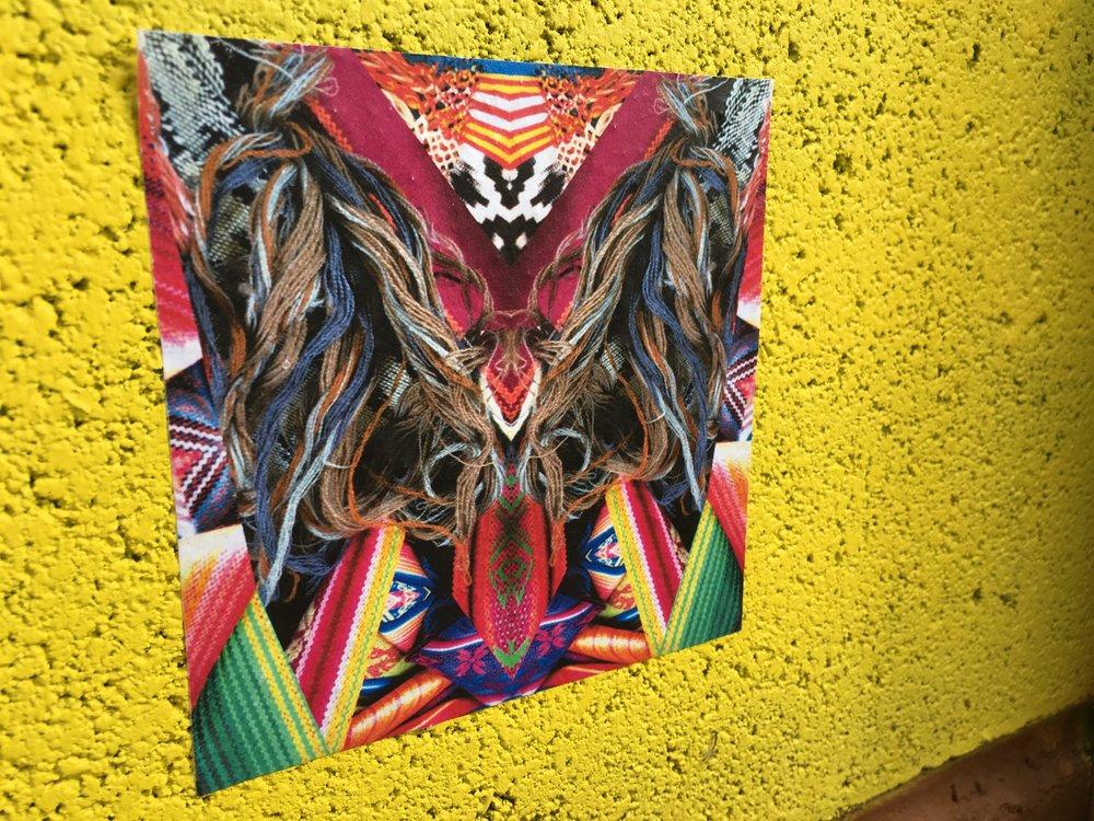 Cathy Quintero Textile Street Art