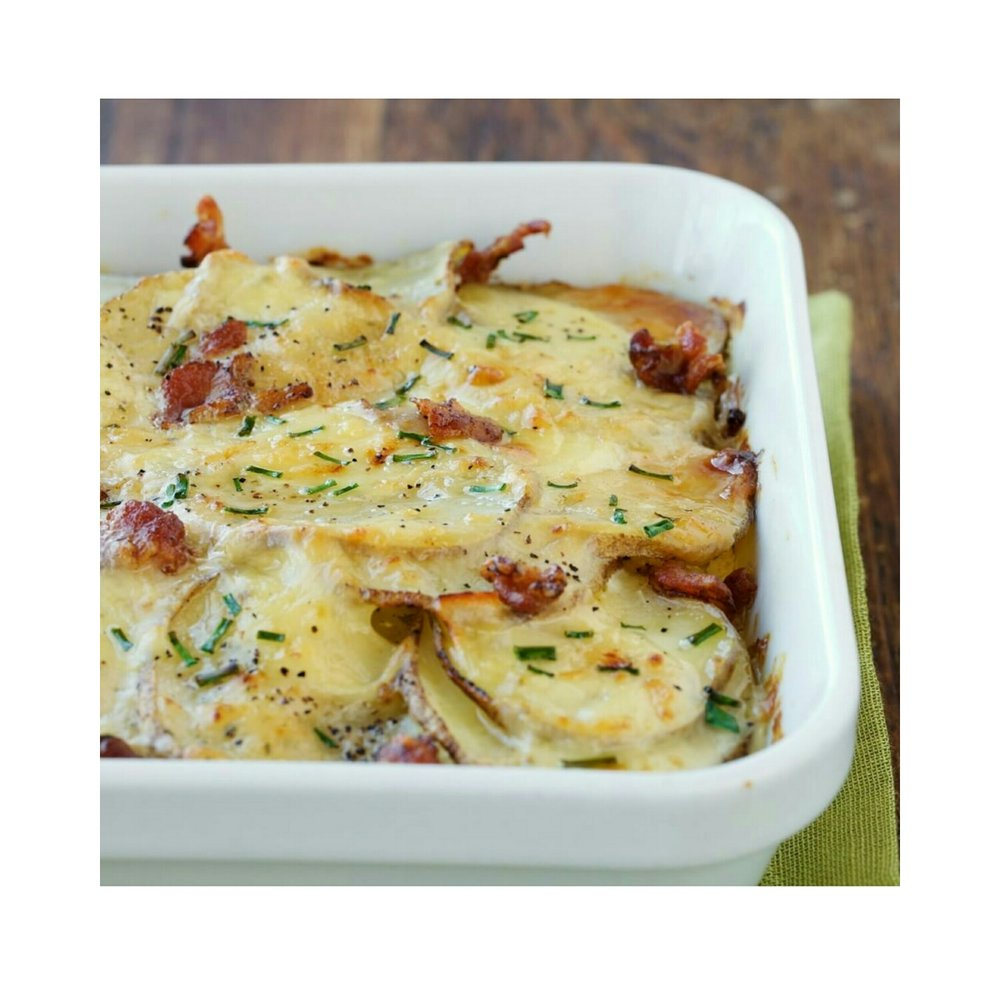 Loaded Sliced Potatoes