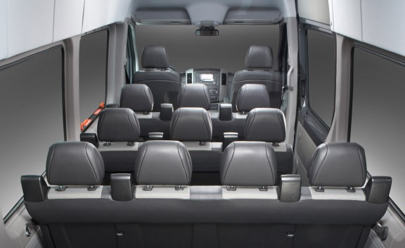 12 Passenger Mercedes Sprinter  (interior)