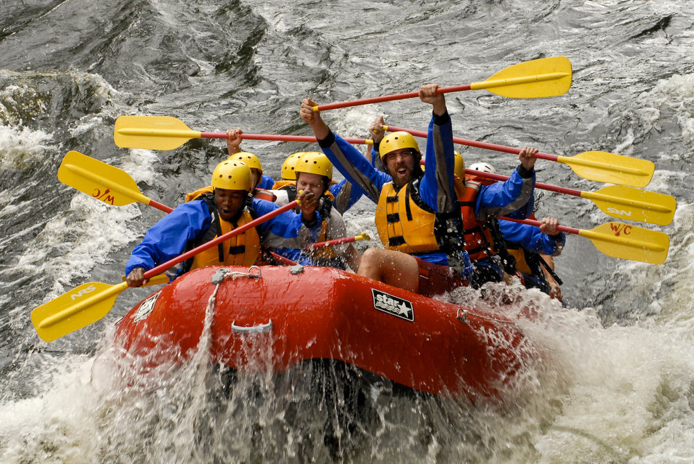 Contact us about a Whitewater Rafting trip or one of our other fun and exciting group outings for your team!