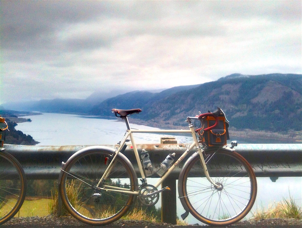 Biking in the Columbia Gorge