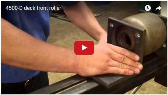 4500-D deck front roller