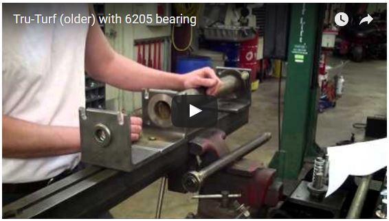 Tru-Turf with 6205 bearing