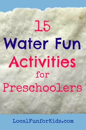 Number Names Worksheets fun activity for kindergarten : 15 Water Fun Activities for Preschoolers — Local fun for kids