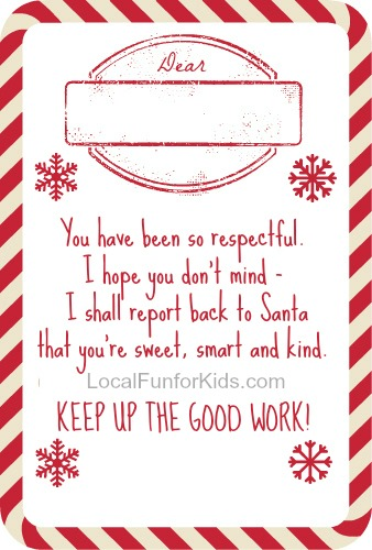 picture regarding Elf on the Shelf Printable Notes called 10 Absolutely free Elf upon the Shelf Printable Poems Regional enjoyable for children