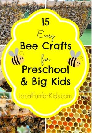 15 Easy Bee Crafts Preschool Big Kids Local Fun For Kids