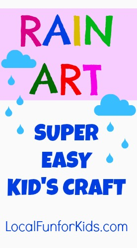 Easy Rainy Day Craft For Kids Local Fun For Kids