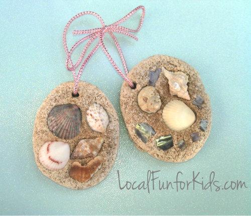 Sanibel Beach: Easy Seashell Craft For Preschoolers