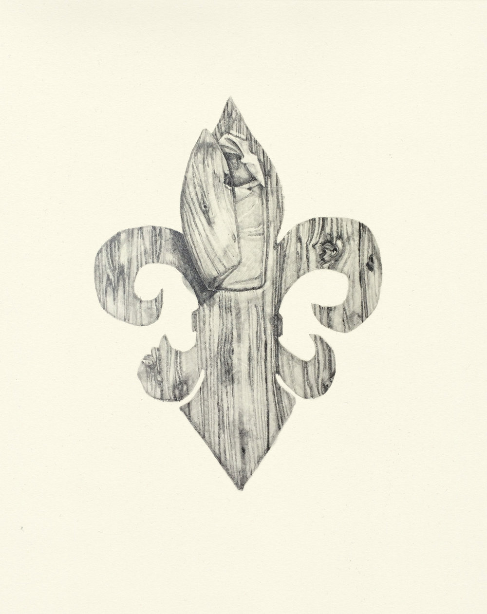 My Boyfriend is a Peacekeeper xxx  | graphite on paper | 9.5INx12IN    Excerpt from My Boyfriend is a Peacekeeper Book ii : I draw coffins in my spare time....Can you imagine burying me in a fleur-de-lis? A baby blue beret?