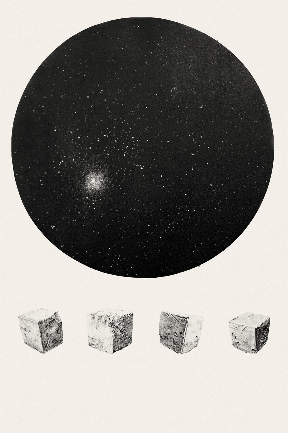 They Shall Have Stars at Elbow and Foot  | graphite on paper | 37.5INx57.5IN