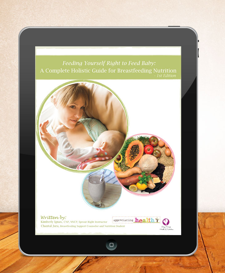 Feeding Yourself Right to Feed Baby: A Complete Holistic Guide to Breastfeeding Nutrition