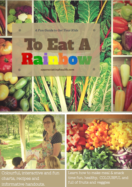 Healthy guide to eat a rainbow