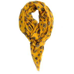 Mulberry Peace & Love Printed Scarff.jpeg