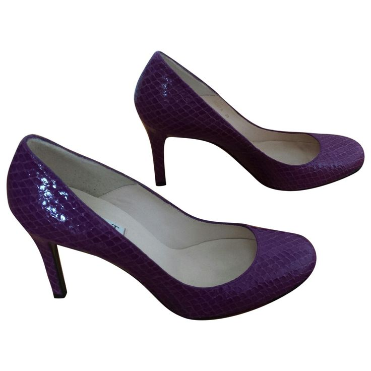 LK Bennett Purple Snakeskin Pumps.jpg