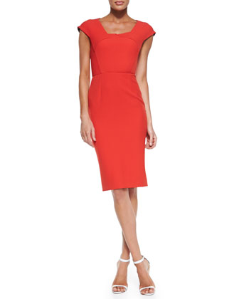 Roland Mouret 'Hirta' Cap-Sleeve Dress.jpg