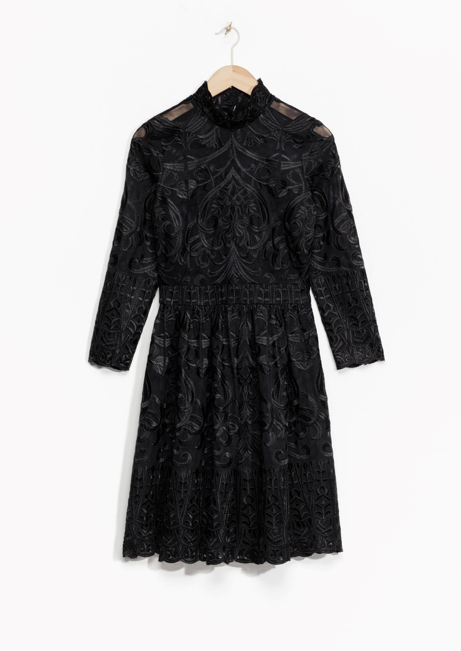 & Other Stories Floral Lace Dress.jpg