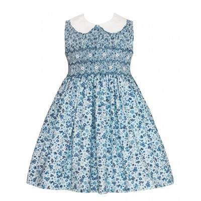 Anavini Smock Blue Flower Print SL Dress-400x400.jpg