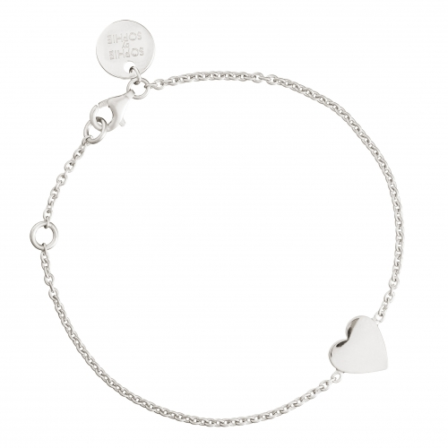 Sophie by Sophie Engraved Heart Bracelet
