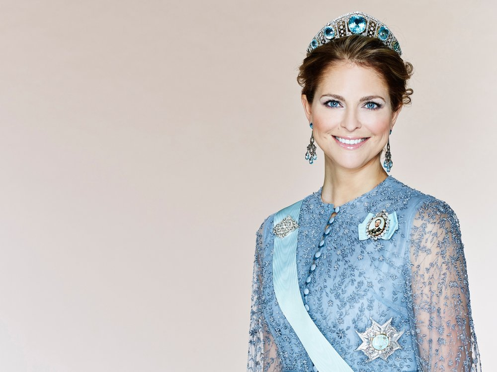 Princess Madeleine - Number of Pieces Debuted: 39Number of Pieces Identified: 30Number Remaining Unidentified: 9Percentage Identified from Scandinavian Designers: 20%