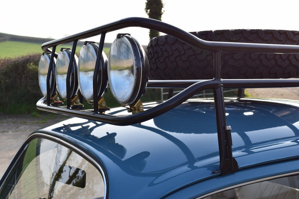 VW Beetle Baja Roof Rack