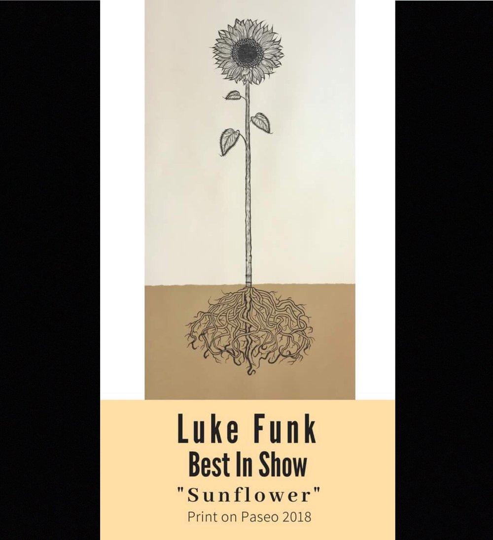 Luke Funk, Sunflower, 2018