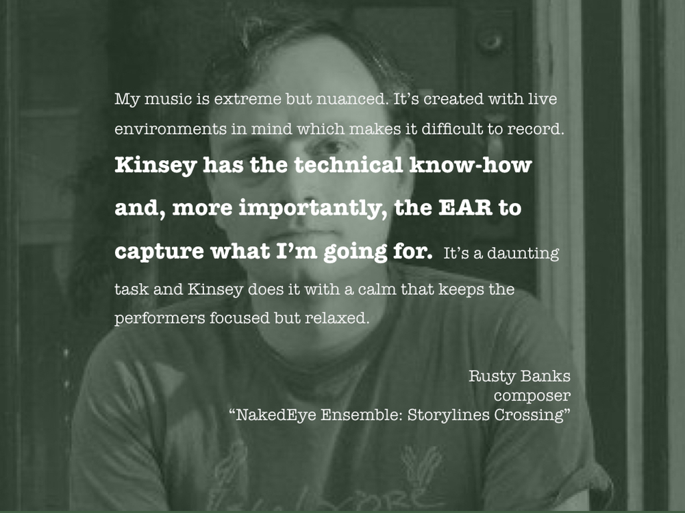 RUSTY BANKS, composer
