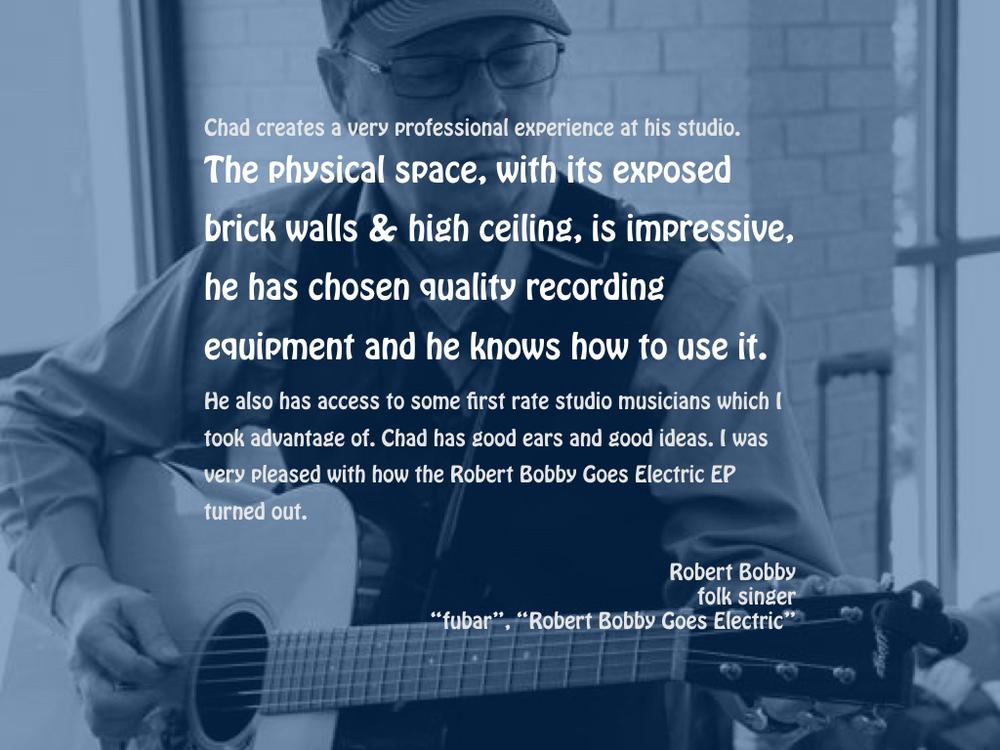 ROBERT BOBBY, folk singer