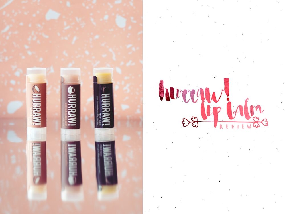 Hurraw! Hurraw Lip Balm Review Moon Balm Coconut Coffee Bean Vegan Cruelty-Free Organic