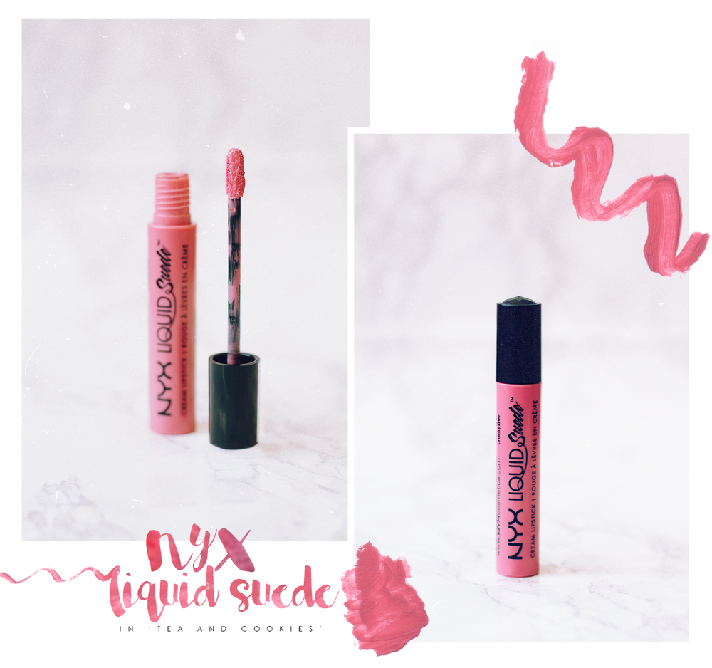 NYX-Tea-And-Cookies-Liquid-Lipstick-Review