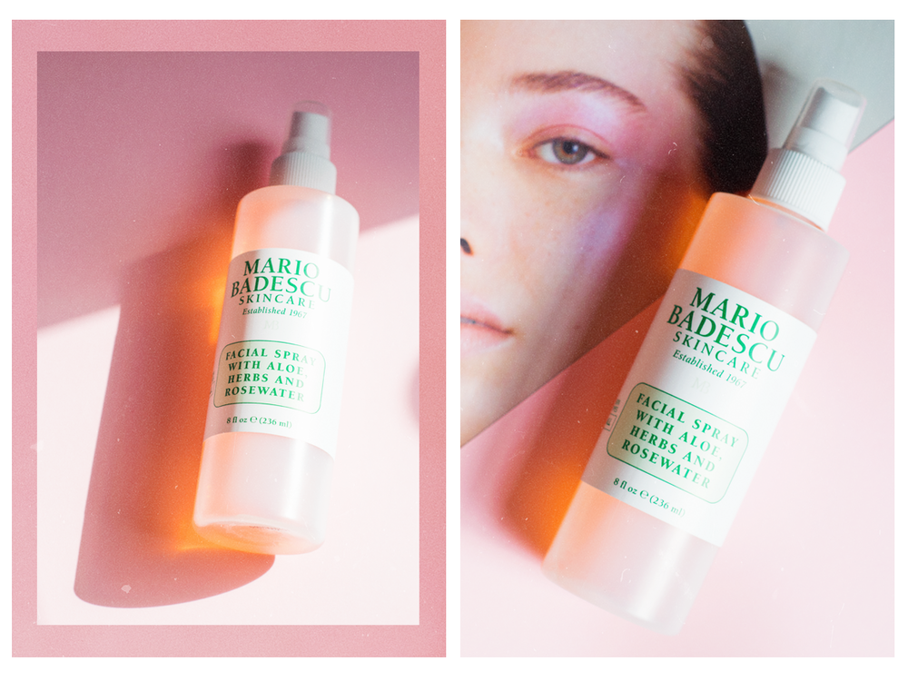 Mario Badescu Rosewater Facial Spray Review