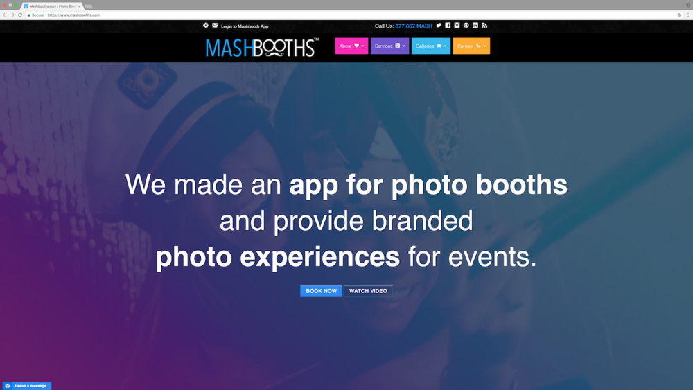 HOW TO CONNECT MASHBOOTHS TO YOUR IPAD