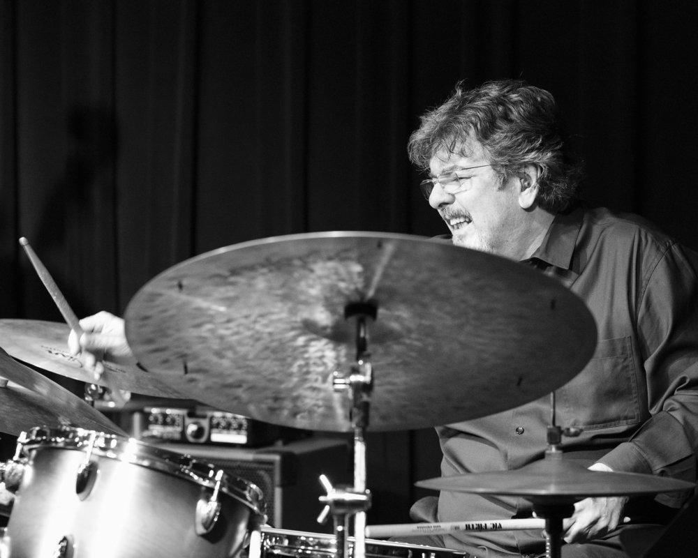 December 9, 2107 - Duduka Da Fonseca, percussion, of the Duduka Da Fonseca Trio with special guest Maucha Adnet @ The Nash