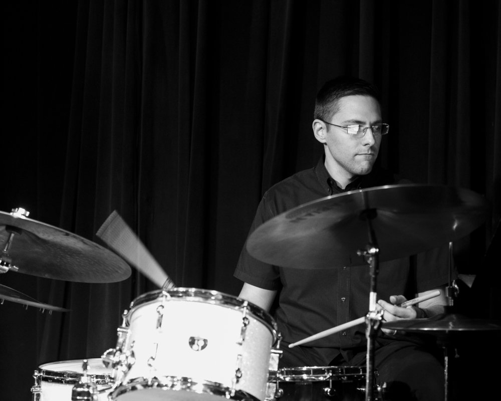 December 4, 2018 Robby Carrillo on drums at The Nash Jazz Phoenix - Joseph Berg Jazz Photography
