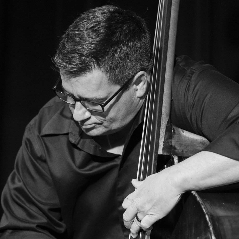 December 4, 2018 Mike King on bass at The Nash Jazz Phoenix - Joseph Berg Jazz Photography