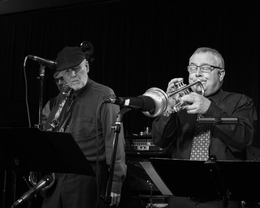 December 20, 2018 - Frank Smith and Denny Monce at The Nash Jazz Phoenix. Joseph Berg Jazz Music Photography.