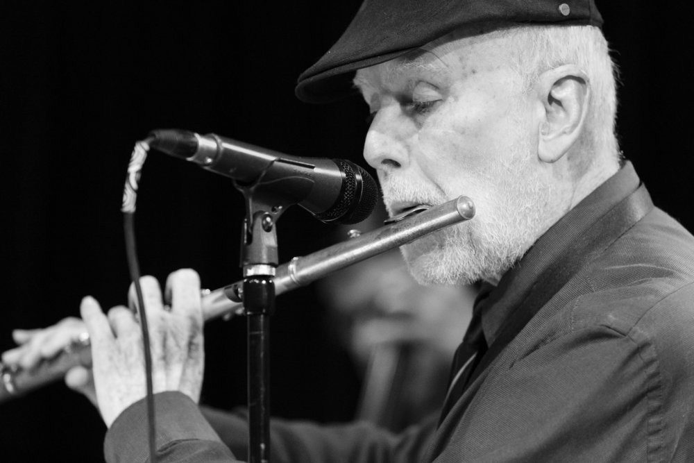 December 20, 2018 - Frank Smith on flute with The Frank Smith Quintet at The Nash Phoenix. Joseph Berg Jazz Music Photography.