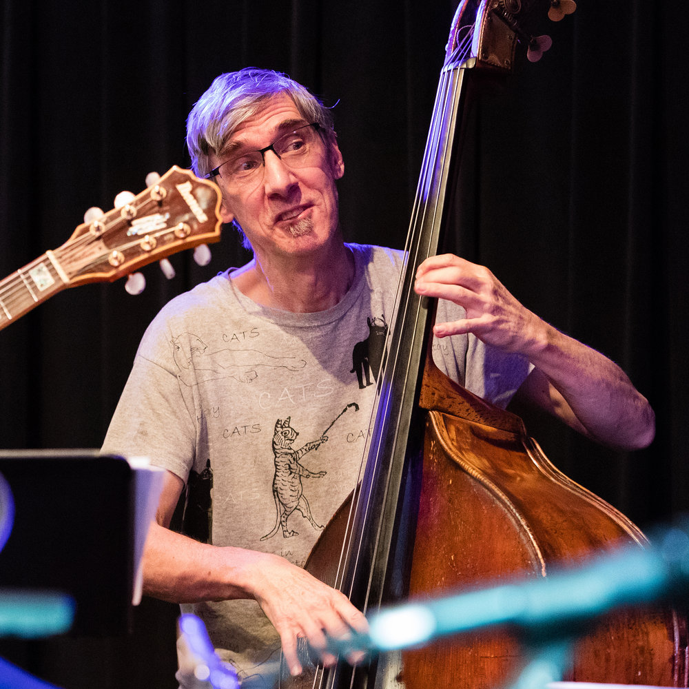 January 26, 2018 Ted Sistrunk on bass at The Nash Jazz Phoenix - Joseph Berg jazz music concert photography.