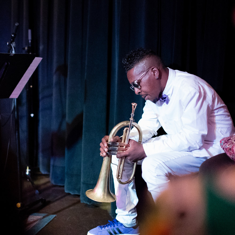 October 7, 2017 Roy Hargrove at The Nash Jazz Phoenix with the Dizzy Gillespie All-Stars - Joseph Berg Music Photography