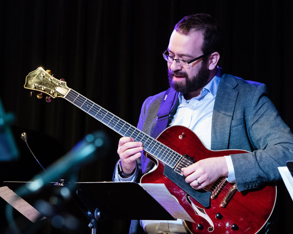 February 7, 2018 Jeff Libman on guitar at The Nash Jazz Phoenix - Joseph Berg Photography