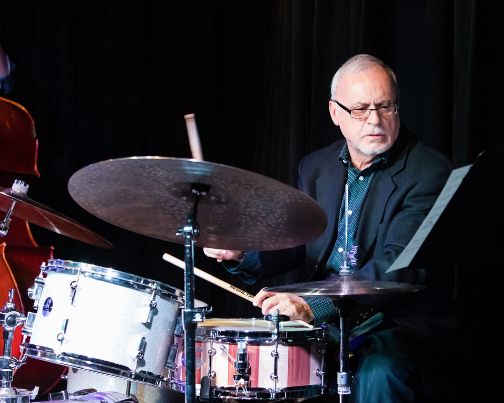 February 7, 2018 Dom Moio on drums at The Nash Jazz Phoenix - Joseph Berg Photography