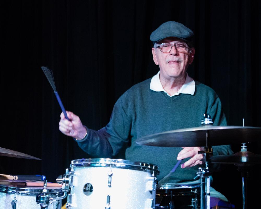 February 11, 2018 Bob McKeon on drums at The Nash Jazz Phoenix - Joseph Berg Photography
