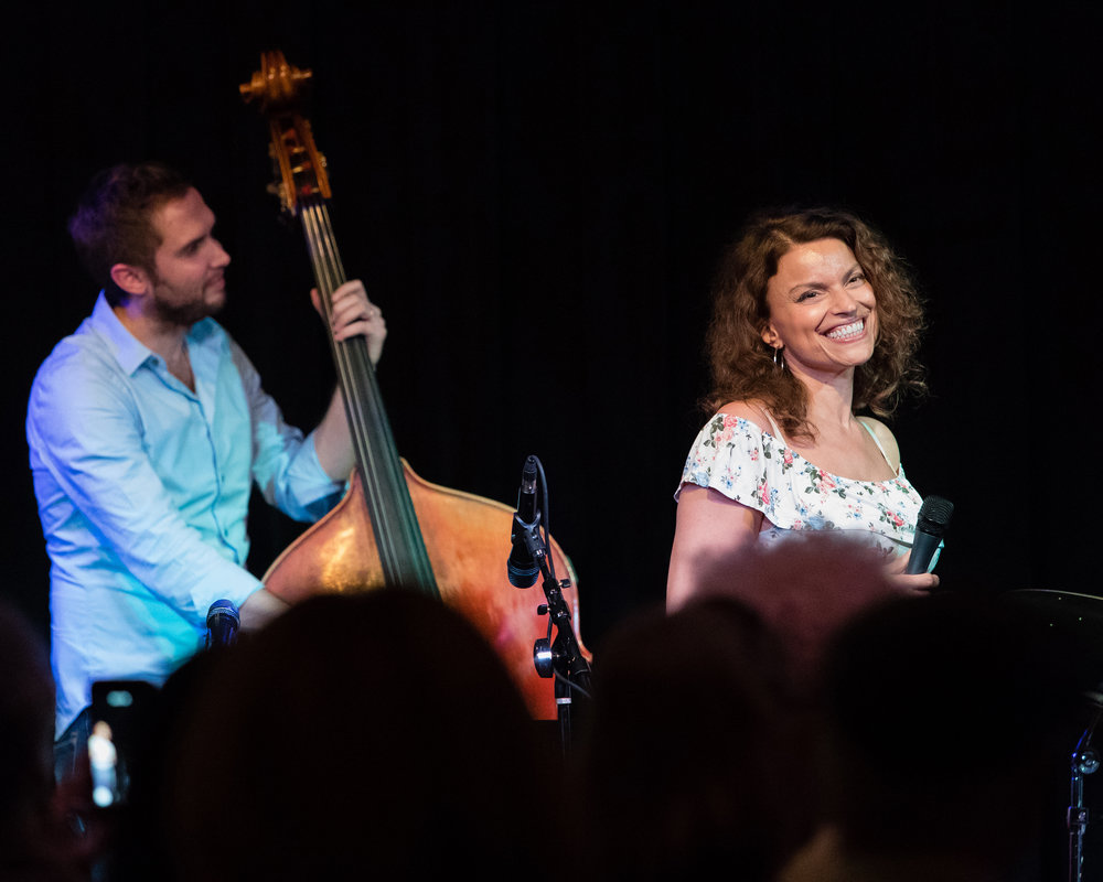 Roberta Gambarini and Ben Hedquist