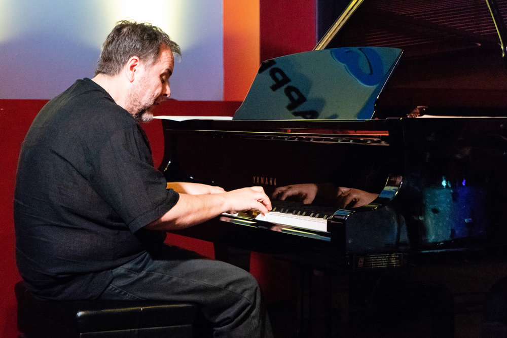 Nick Manson with Mayu Saeki at The Nash Jazz Phoenix including Carol Mellis, John Lewis,  and Mario Mendivil - Joseph Berg Jazz Concert Photography