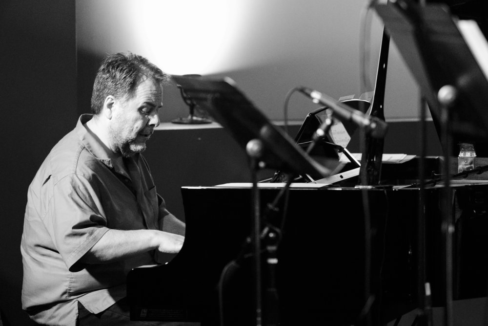 Nick Manson on piano at The Nash Jazz Phoenix - Joseph Berg Photography