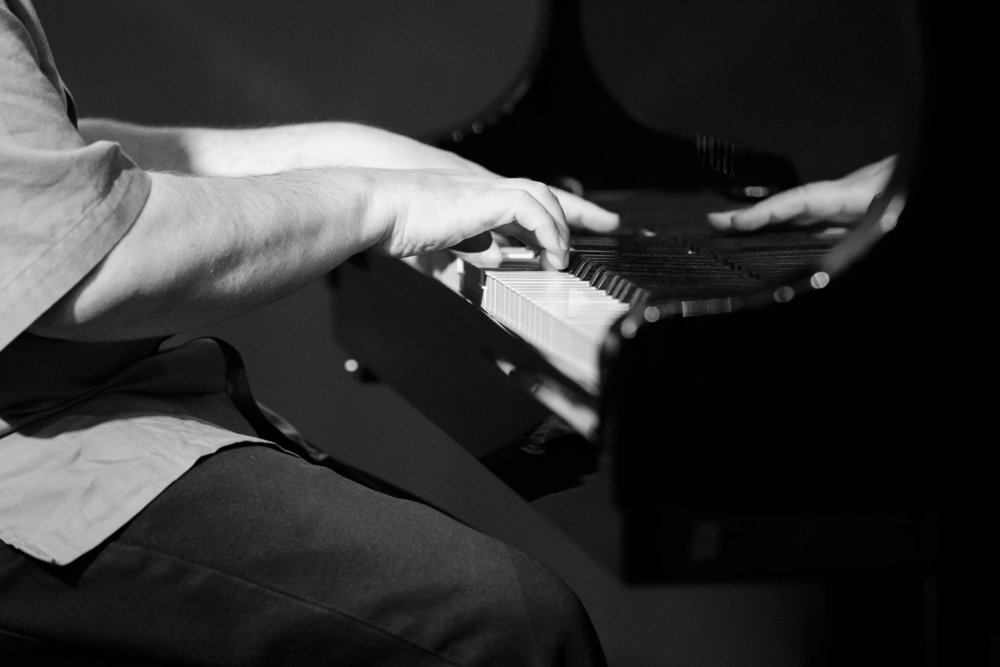 Nick Manson on the piano at The Nash Jazz Phoenix - Joseph Berg Photography