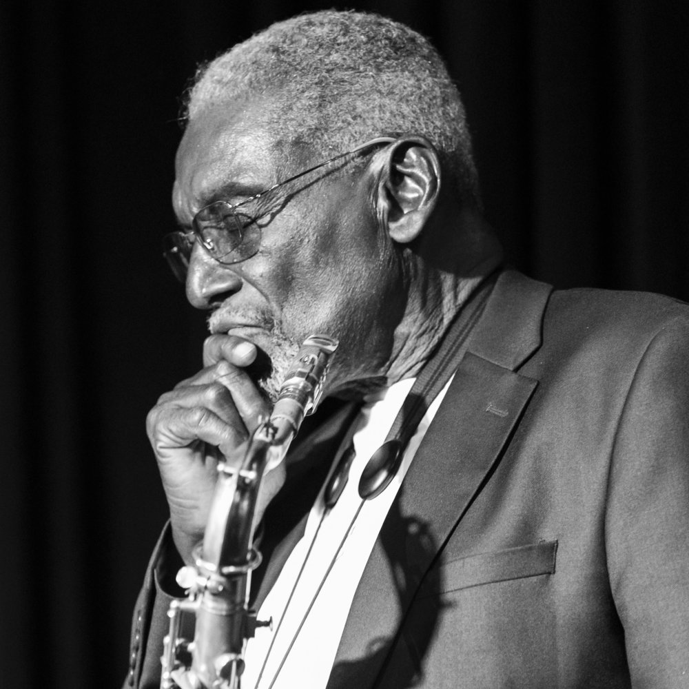 Jazz Saxophone Deep in Thought - Joseph Berg The Best Concert Photography in Phoenix