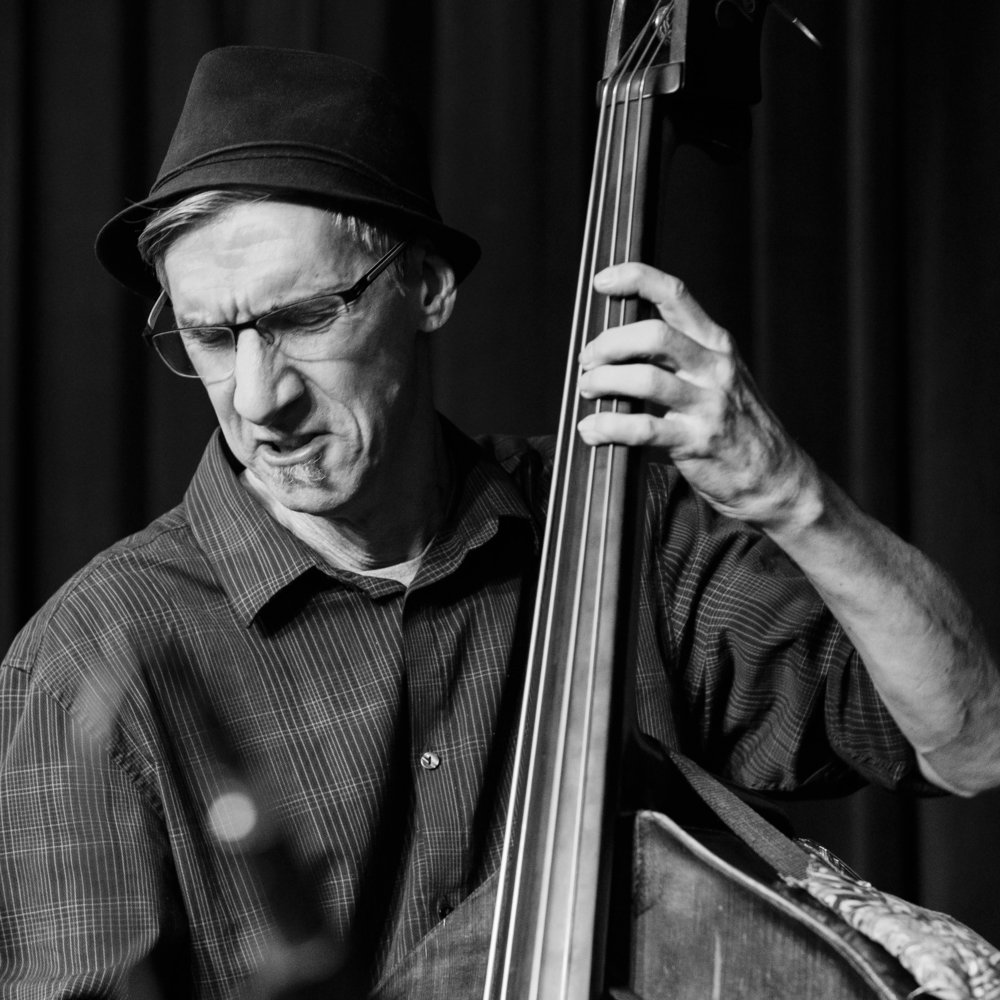 Ted Sistrunk on bass with Lewis Nash and Friends Pro Jam - Joseph Berg Jazz Photography