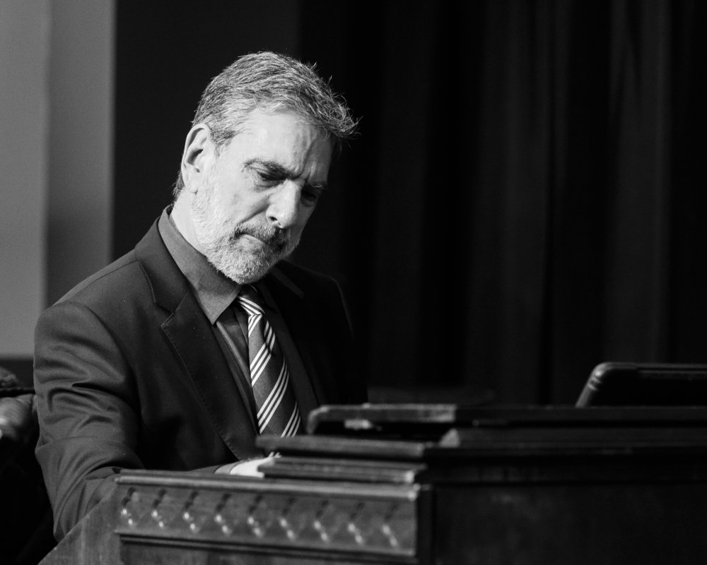 Michael LeDonne at The Nash with the Groover Quartet - Joseph Berg Photography