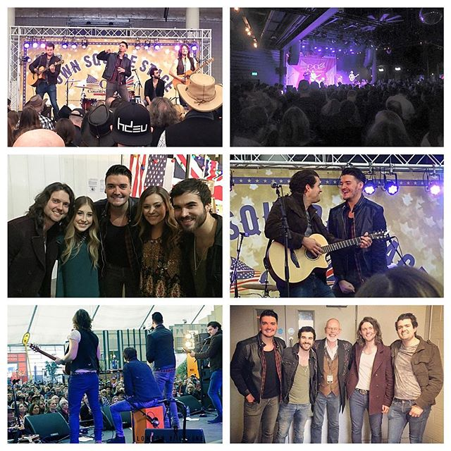 2016... Our year in pictures!  All our shows at @c2cfestival were full to capacity this year! Always great to see @whisperingbob & @maddieandtae  #pauperkings #countrymusic #band #music #maddieandtae #bobharris #whisperingbob #country2country