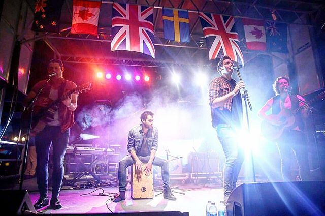 One year a go today we represented the UK for Country music at GlobaLive in Nashville!  So sad that the event will no longer take place, but so proud that we were the chosen band to be on its final line up!  Love you @aristopr